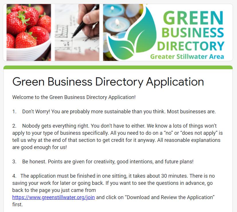 business directory categories list csv